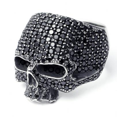MASTER SKULL RING PAVE (BLACK) MEN'S RING(メンズ リング)通販 | JAM HOME MADE(ジャムホームメイド)公式通販