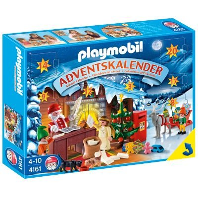 "Amazon.com: ""Christmas Post Office"" Advent Calendar by Playmobil: Toys & Games"