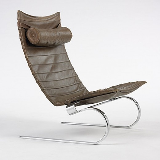 582: Poul Kjaerholm / PK 20 lounge chair < Modern + Contemporary Design, 25 March 2007 < Auctions | Wright