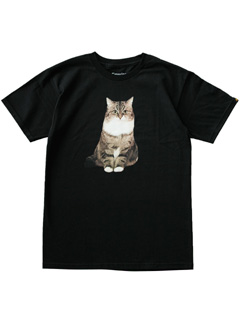 LOVE online store|MEN | EMERICA  CAT Tee (black)
