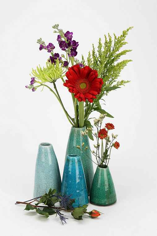 Ceramic Vase - Set Of 4 - Urban Outfitters