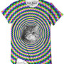 Aloha From Deer Crazy Cat Tee - Urban Outfitters - $49.00 - Pin Swag