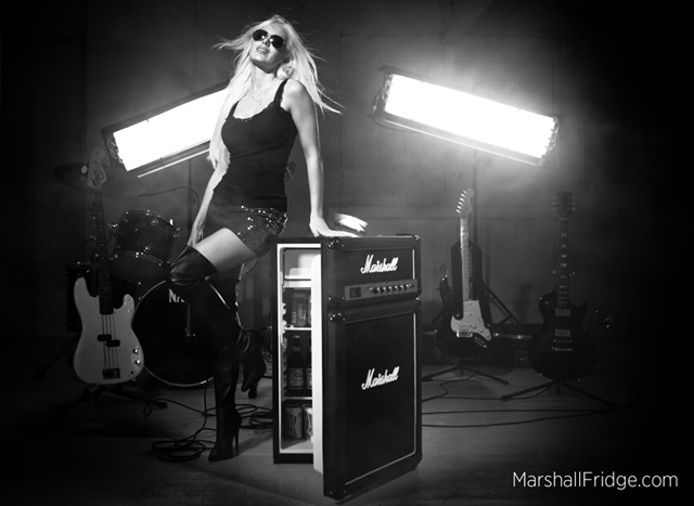 Marshall Fridge | The coolest icon in music just got cooler.