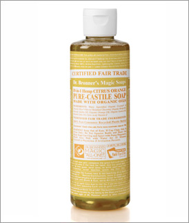 Dr. Bronner's Magic Soaps Retail Store: Citrus Liquid Soap 8 oz