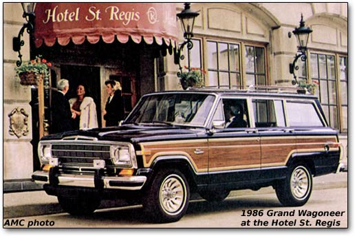 Jeep Wagoneer description and information