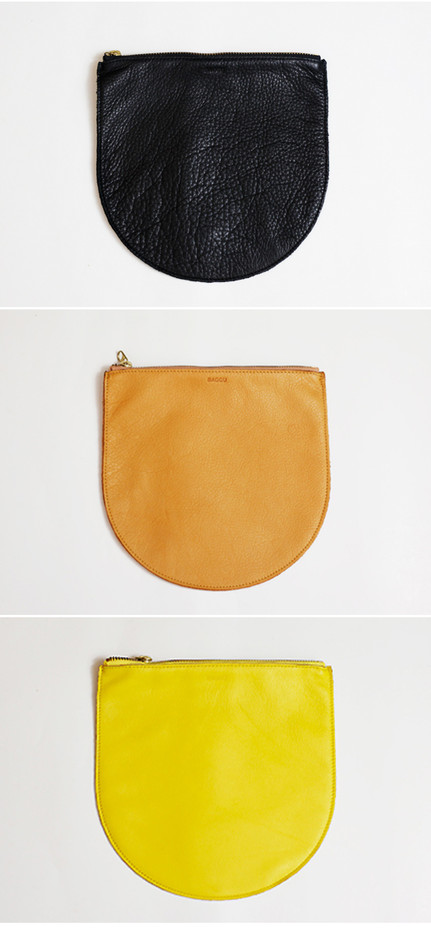BAGGU / Leather Pouch M - Cazahana WebStore| カザハナ ウエブストア