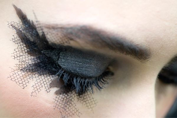 fishnet eyelashes by Chanel | My Style Pinboard