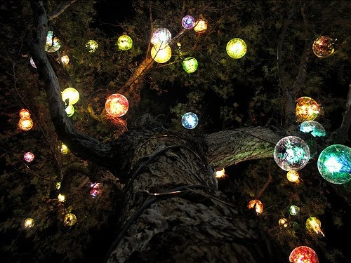 Lights for the trees outside | Dream home :)