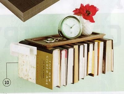 poppytalk: flybrary bedside table