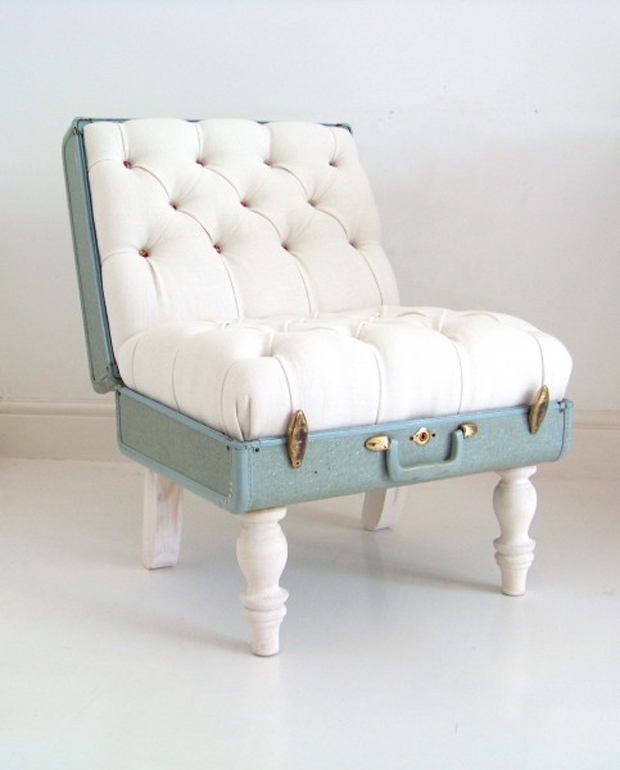 Dream Idea ~ Vintage Suitcase Chair