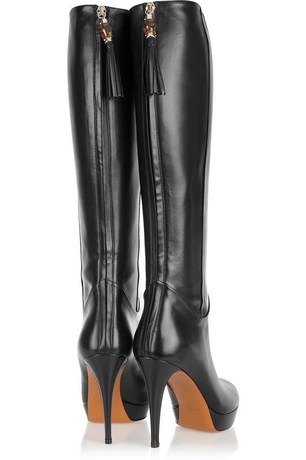 Expensive Taste. / GUCCI Leather knee boots