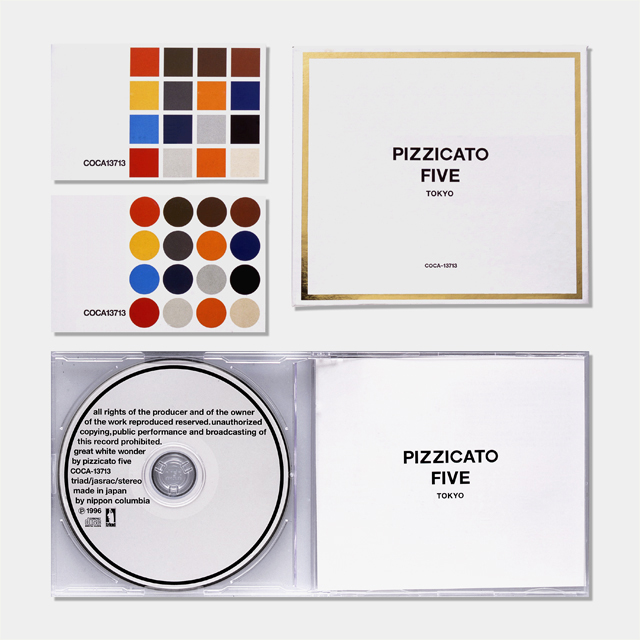 groovisions works PIZZICATO FIVE