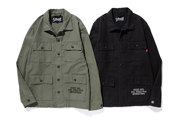 Stussy x Schott N.Y.C. Collection | SLAMXHYPE