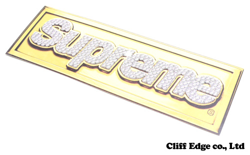 【楽天市場】SUPREME Bling Logo Sticker [ステッカー] 290-002591-010+【新品】:Cliff Edge