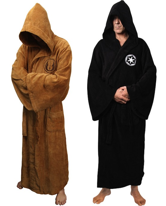 Jedi and Sith Bathrobes | Geekosystem