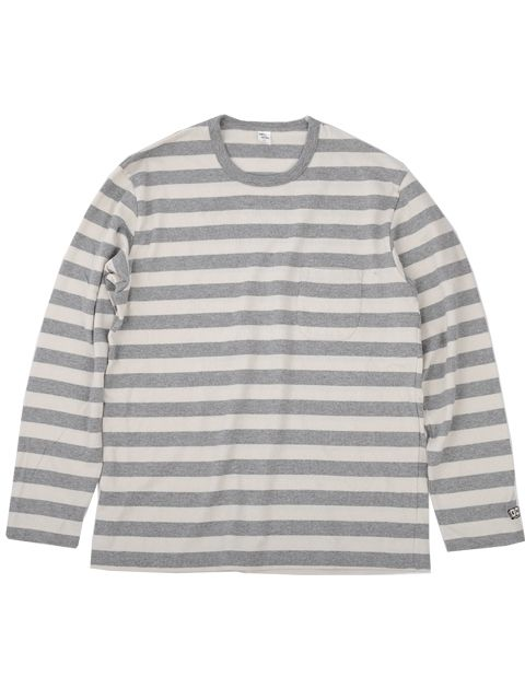 ENDS and MEANS Pocket Border L/S tee   DOCKLANDS Store