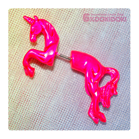 ユニコーンピアス・PINK - 6%DOKIDOKI WEB SHOP