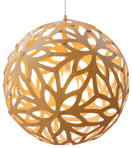 David Trubridge Design Floral 600 Bamboo Suspension Lamp - modern - ceiling lighting - - by Switch Modern