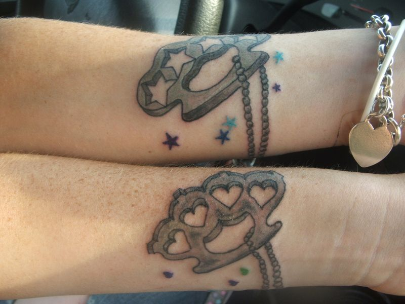 Matching Tattoos For Best Friends When My Two