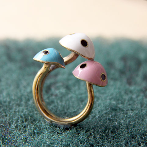 Monsterthreads, Illustration movement - Mushroom Ring (Powered by CubeCart)
