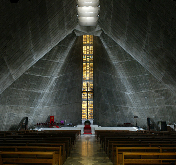 St. Mary's Cathedral - Kenzo Tange