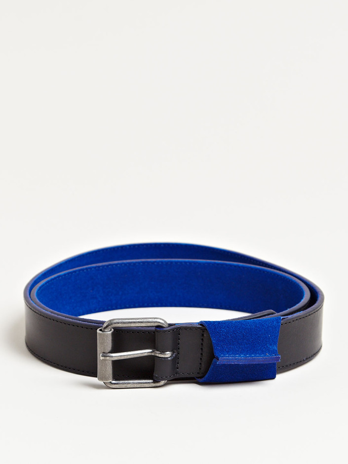 Dries Van Noten Men's Inner Suede Belt | LN-CC