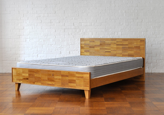 PACIFIC FURNITURE SERVICE: PARQUET BACK BED