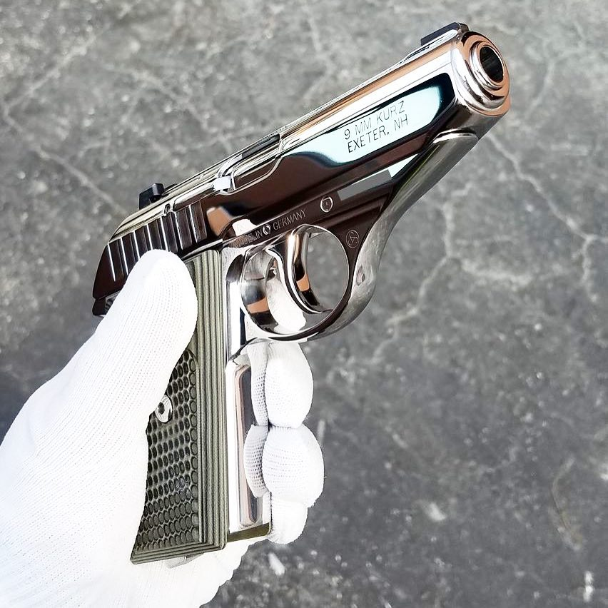 Patriot Gun PolishingさんはInstagramを利用しています:「Mirror polished 9mm Sig Sauer P232」 • Instagram