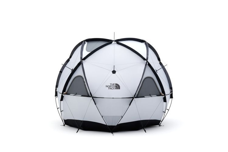 Gallery of North Face Releases a Geodesic Dome Tent Capable of Withstanding the Toughest Weather - 2