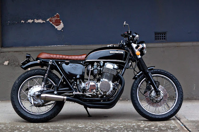 ϟ Hell Kustom ϟ: Honda CB750 By 66 Motorcycles