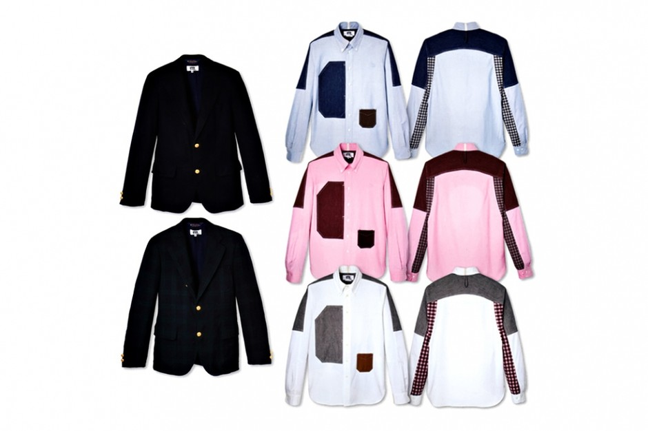 eYe COMME des GARCONS JUNYA WATANABE MAN x Brooks Brothers Shirt and Blazer Collection | Hypebeast Mobile