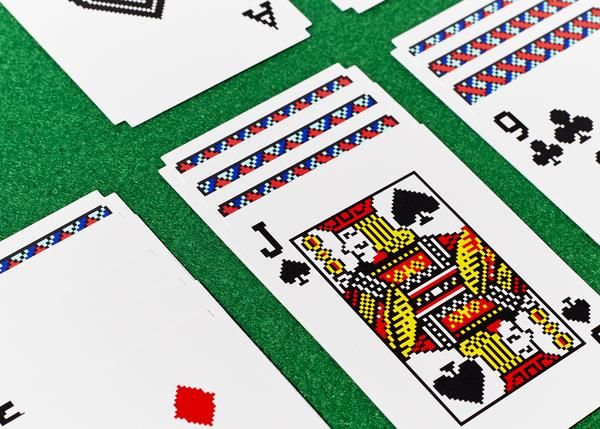 Areaware | Solitaire Cards by Susan Kare