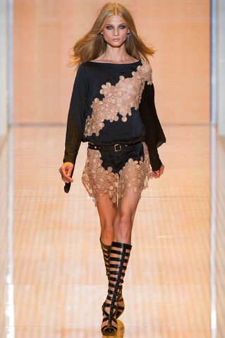 Versace Spring 2013 Ready-to-Wear Collection on Style.com: Runway Review