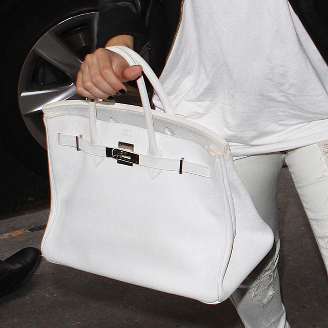 Fancy - White Birkin Bag