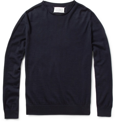 Maison Martin Margiela Seamless Cashmere Crew Neck Sweater | MR PORTER