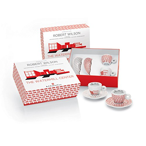 Amazon.co.jp: イリー アートコレクションILLY Art Collection (Robert Wilson - The Watermill Center) Espresso 2 cup set - エスプレッソ2杯セット - 並行輸入品: 食品・飲料・お酒