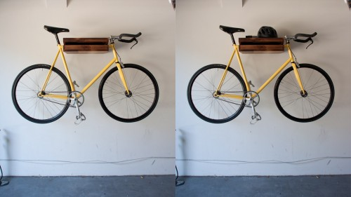 "The Original ""Bike Shelf"" 
