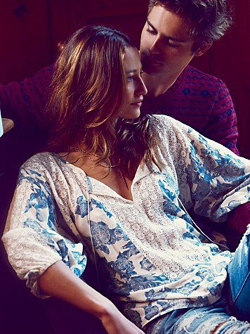 Free People Moon River Blouse at Free People Clothing Boutique