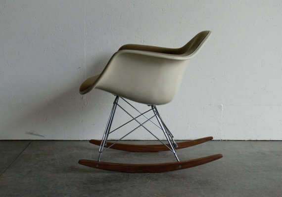 Eames for Herman MIiller Armchair Rocker by CoMod on Etsy