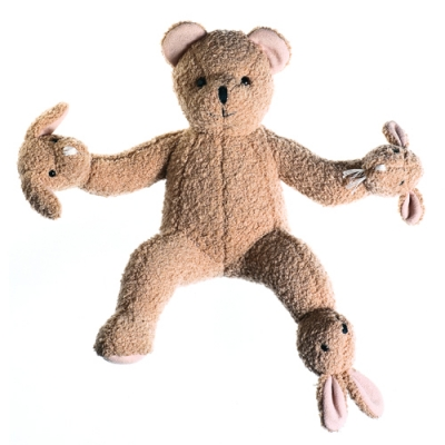 "FFFFOUND! | hyperempowered : Philippe Starck's ""Teddy Bear Band"""