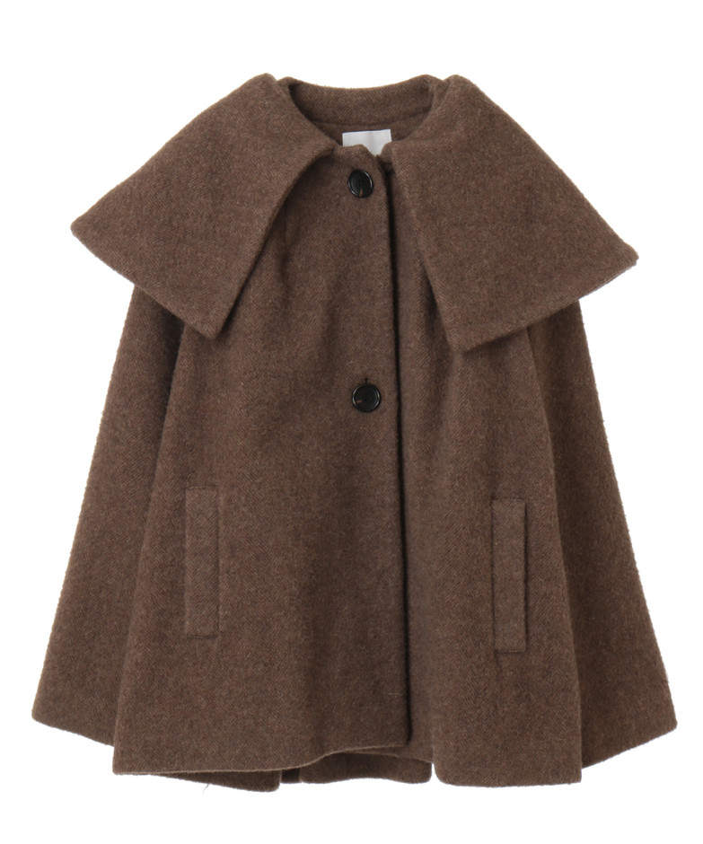 BIG COLLAR FLARE COAT OUTER(アウター) CLANE OFFICIAL ONLINE STORE
