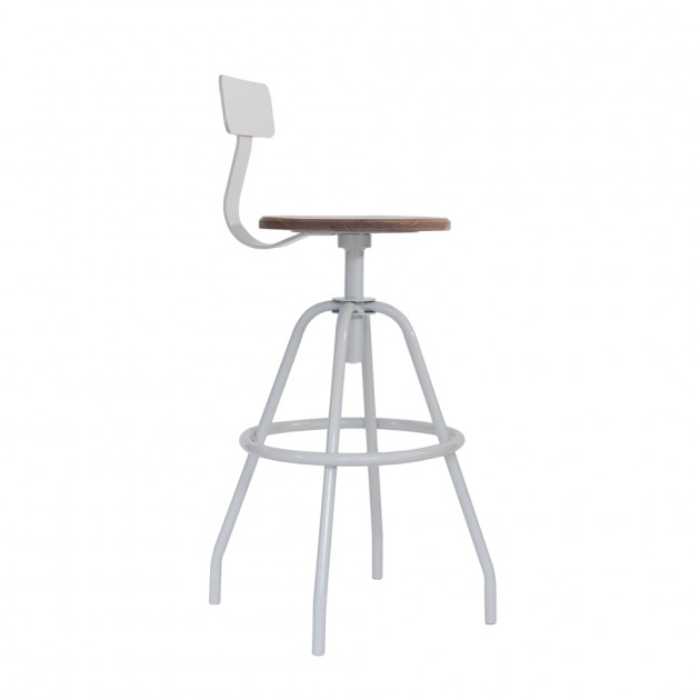 Swivel Studio Work Stool | Featured | Leather Goods, Wallets, Bags, Accessories | Made in the USA