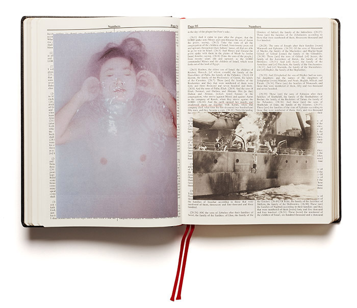 HOLY BIBLE / Adam Broomberg & Oliver Chanarin / ON READING Online Shop