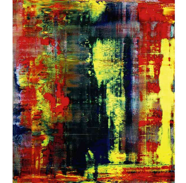Gerhard Richter's Abstraktes Bild (809-4) to Spearhead Sotheby's Contemporary Art Auction | Art and Coin TV Blog