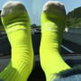 SHOCKING NEON KONCOS SOCKS [Yellow] | Anoraks Souvenir Shop