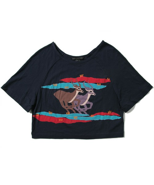 MARC BY MARC JACOBS / RUNNING IMPALA PRINT TEE(Tシャツ・カットソー) - ZOZOVILLA