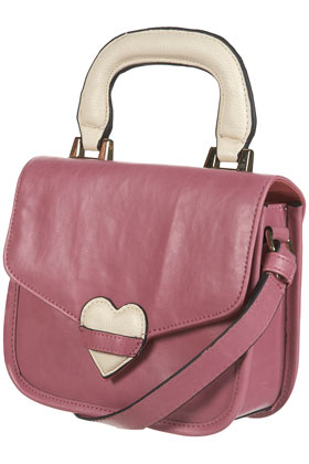 Pink Padded Heart Bag - Bags & Purses - Accessories - Topshop