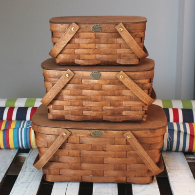 traditionl basket for familyes