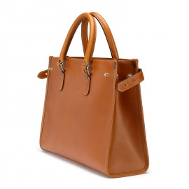Kimbolton Tote in Caramel Saddle Leather - For him