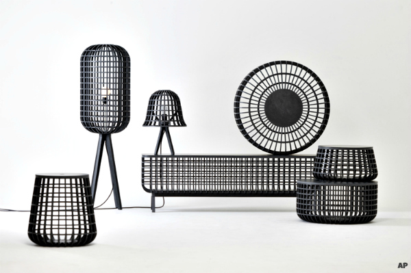 Korean Latticework Furniture - The Dami Series by Seung Yong Song